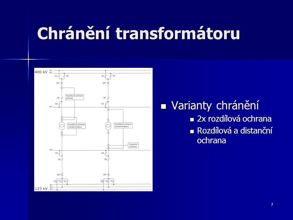 Chránění transformátoru