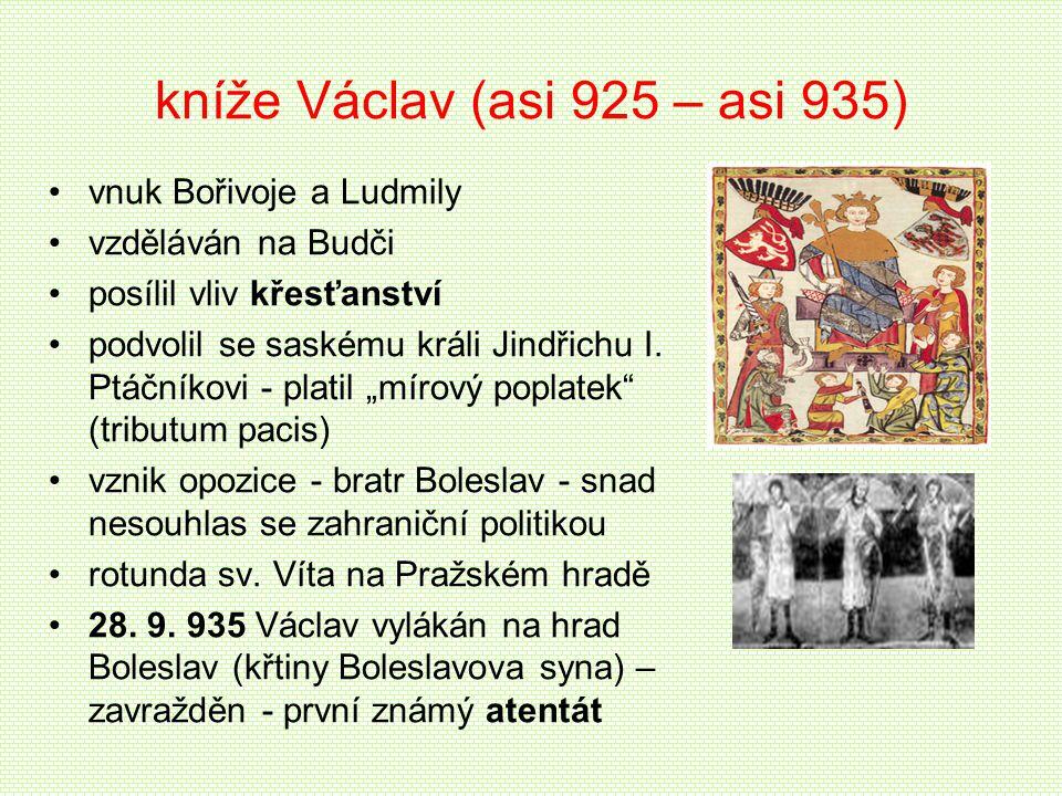 kníže Václav (asi 925 – asi 935)