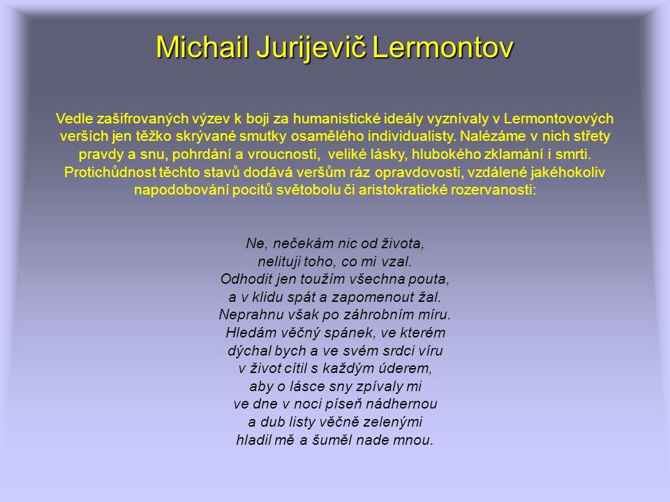 Michail Jurijevič Lermontov