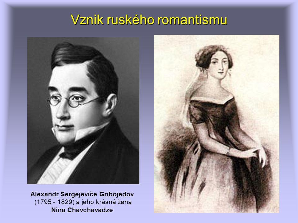 Vznik ruského romantismu