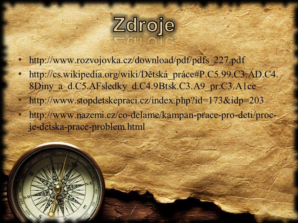 Zdroje http://www.rozvojovka.cz/download/pdf/pdfs_227.pdf