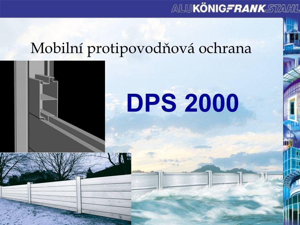 Mobilní protipovodňová ochrana