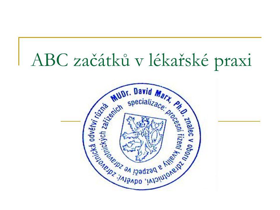 ABC začátků v lékařské praxi