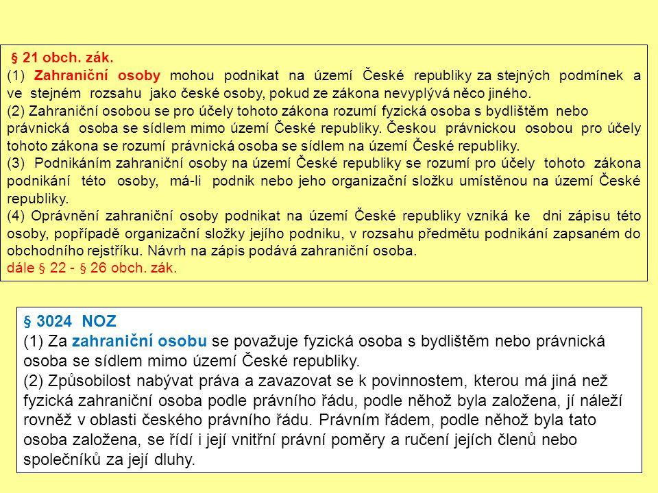 § 21 obch. zák.