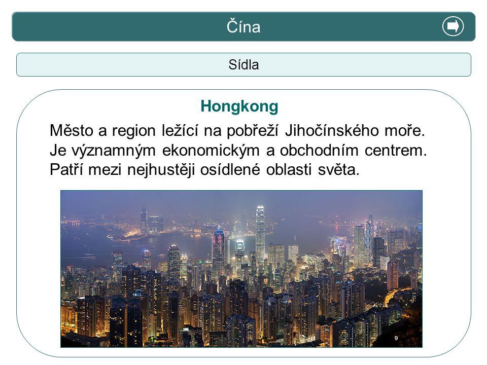 X. Zajímavosti Čína Hongkong