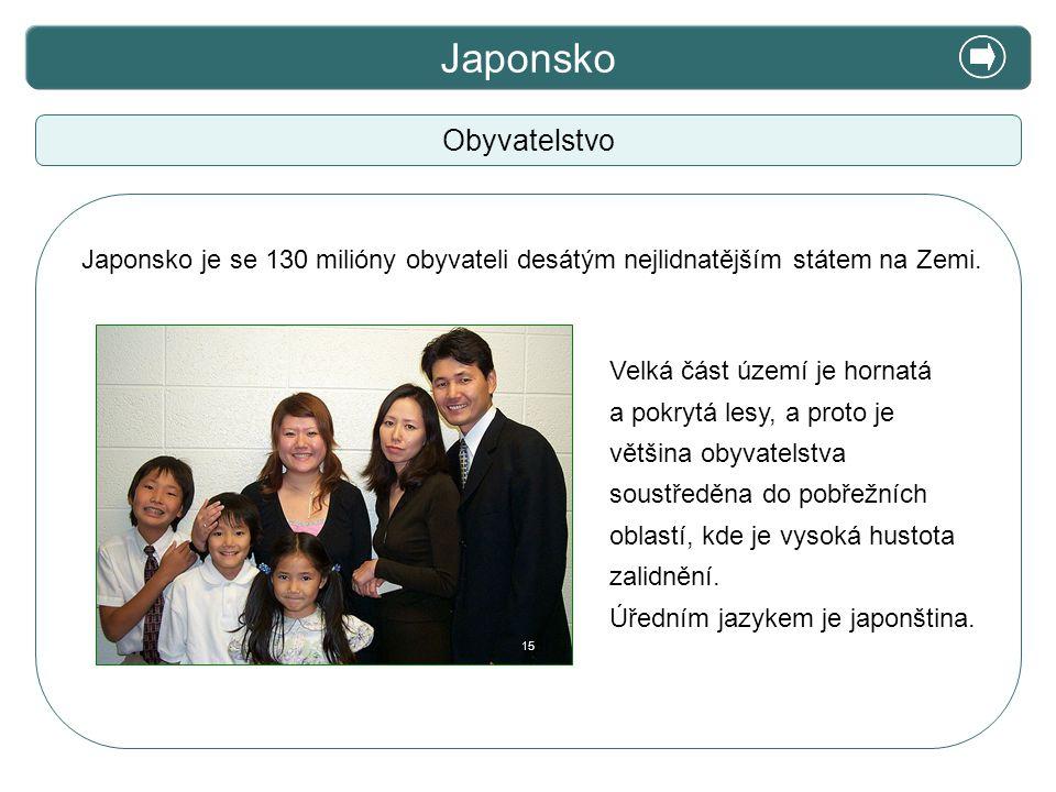 Japonsko X. Zajímavosti Obyvatelstvo