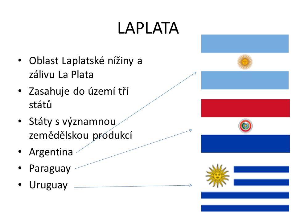 LAPLATA Oblast Laplatské nížiny a zálivu La Plata