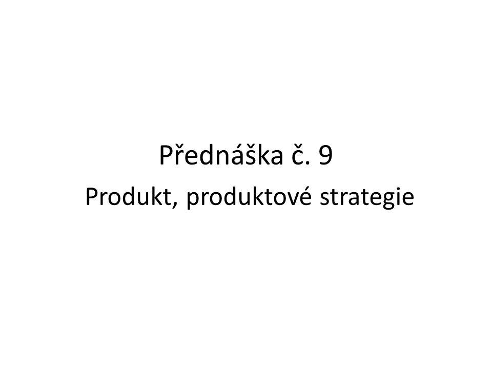 Produkt, produktové strategie