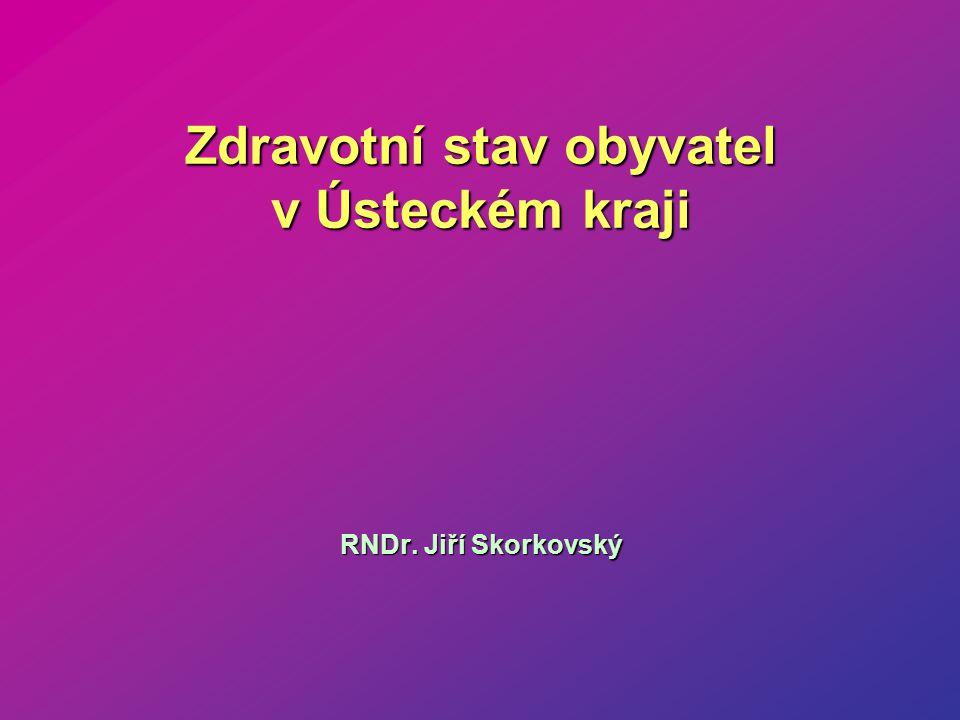 Zdravotní stav obyvatel v Ústeckém kraji RNDr. Jiří Skorkovský