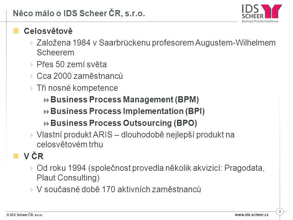 Něco málo o IDS Scheer ČR, s.r.o.