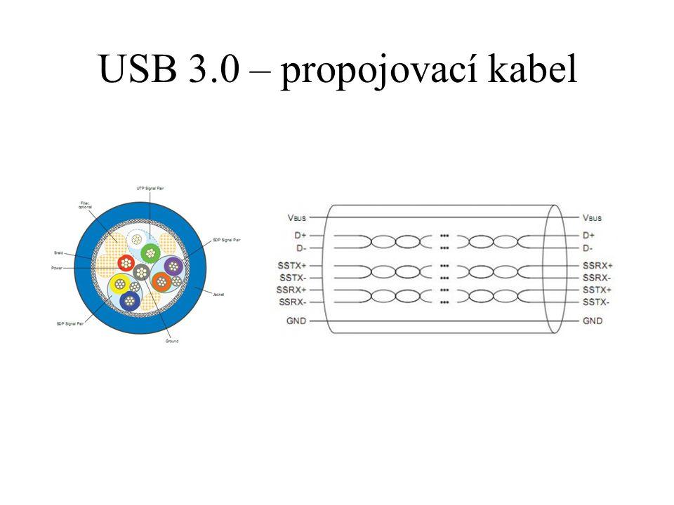 USB 3.0 – propojovací kabel