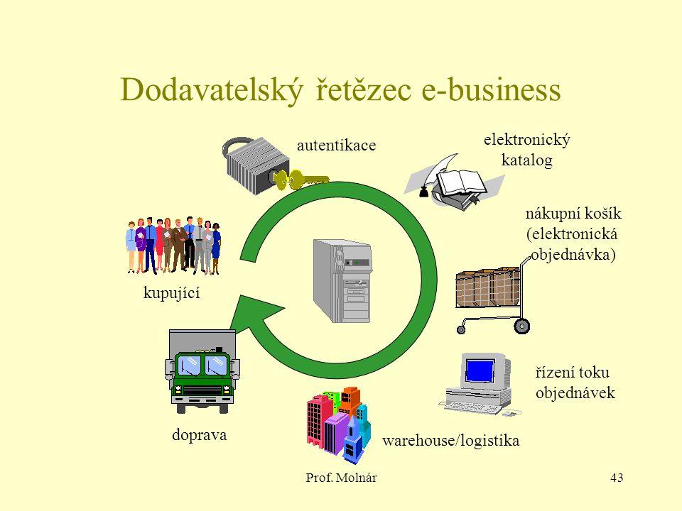 Dodavatelský řetězec e-business