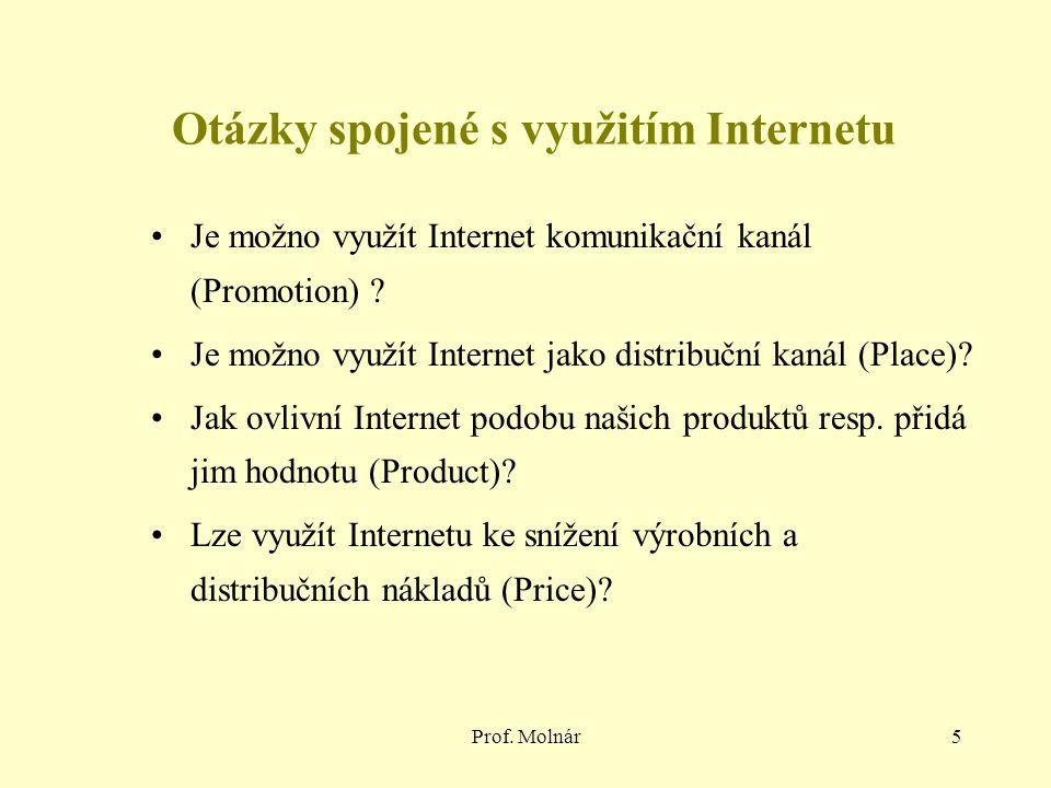 Otázky spojené s využitím Internetu