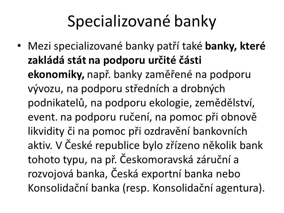 Specializované banky