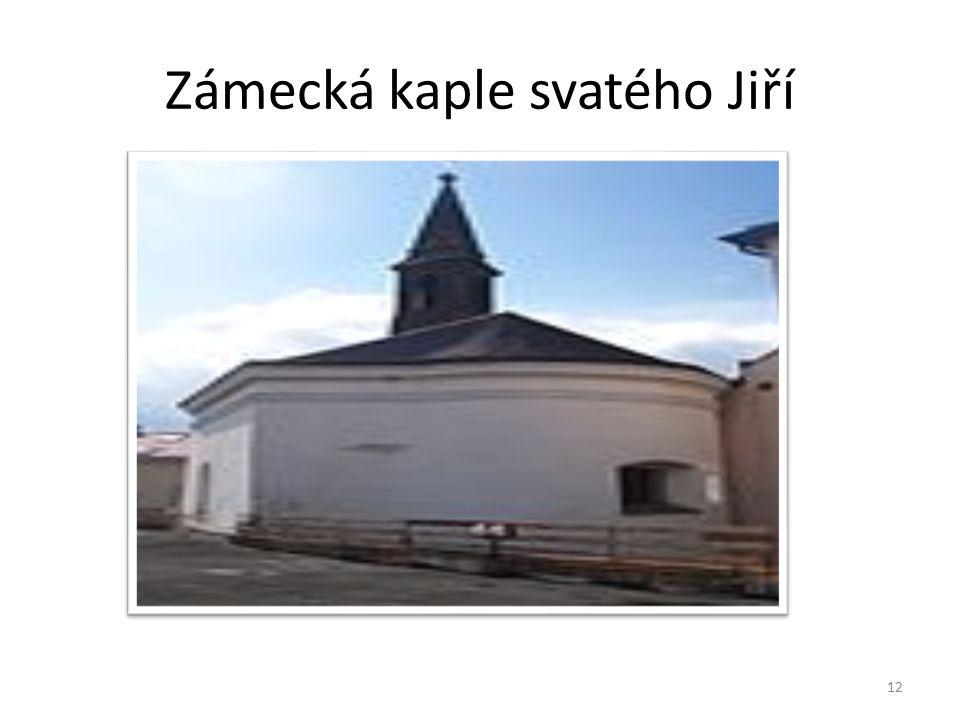 Zámecká kaple svatého Jiří