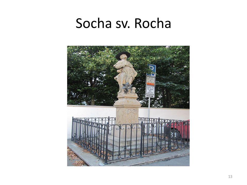 Socha sv. Rocha