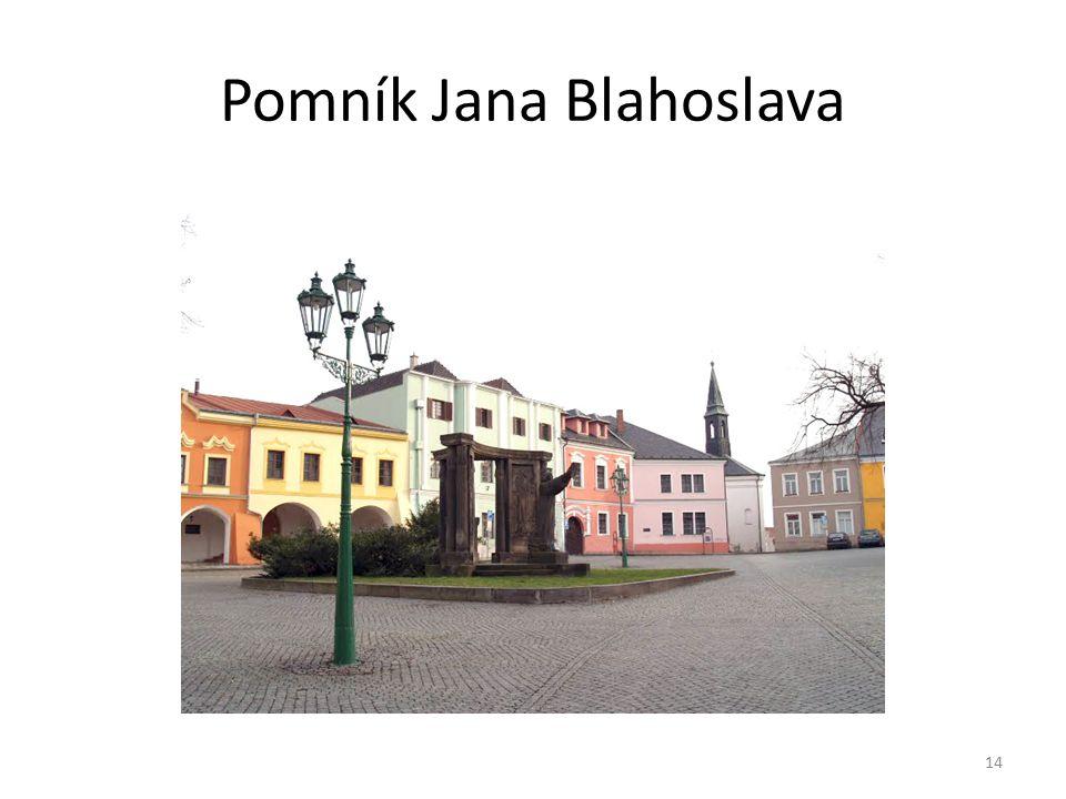 Pomník Jana Blahoslava