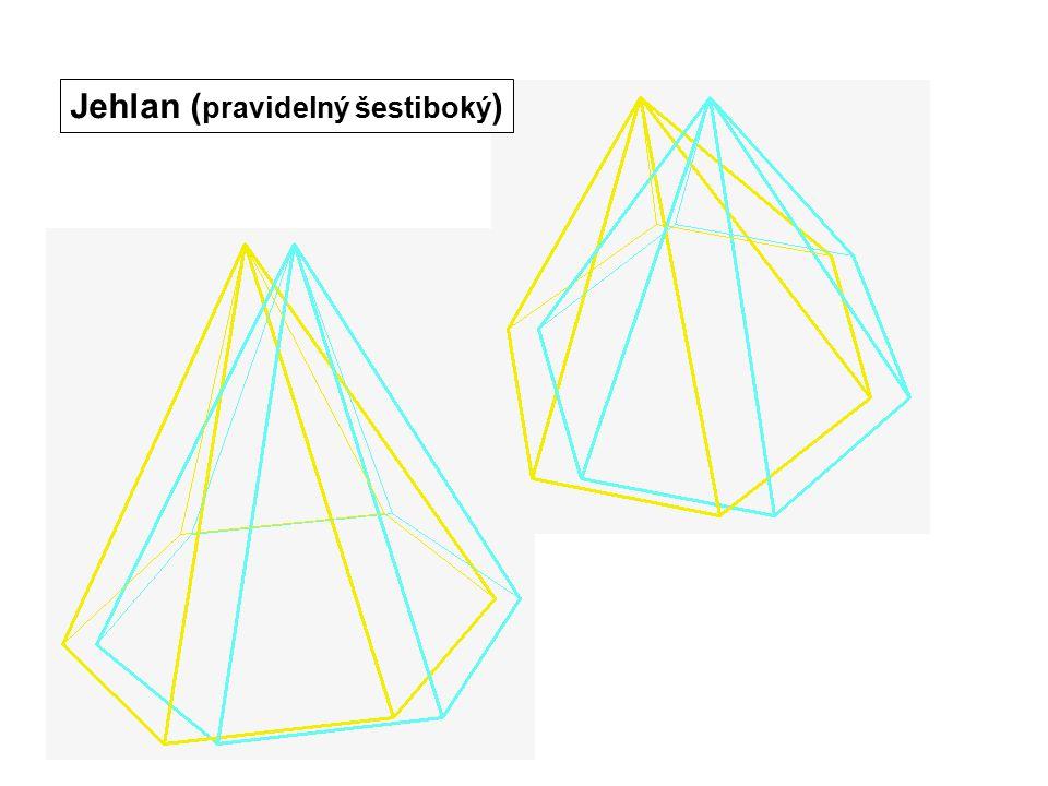 Jehlan (pravidelný šestiboký)