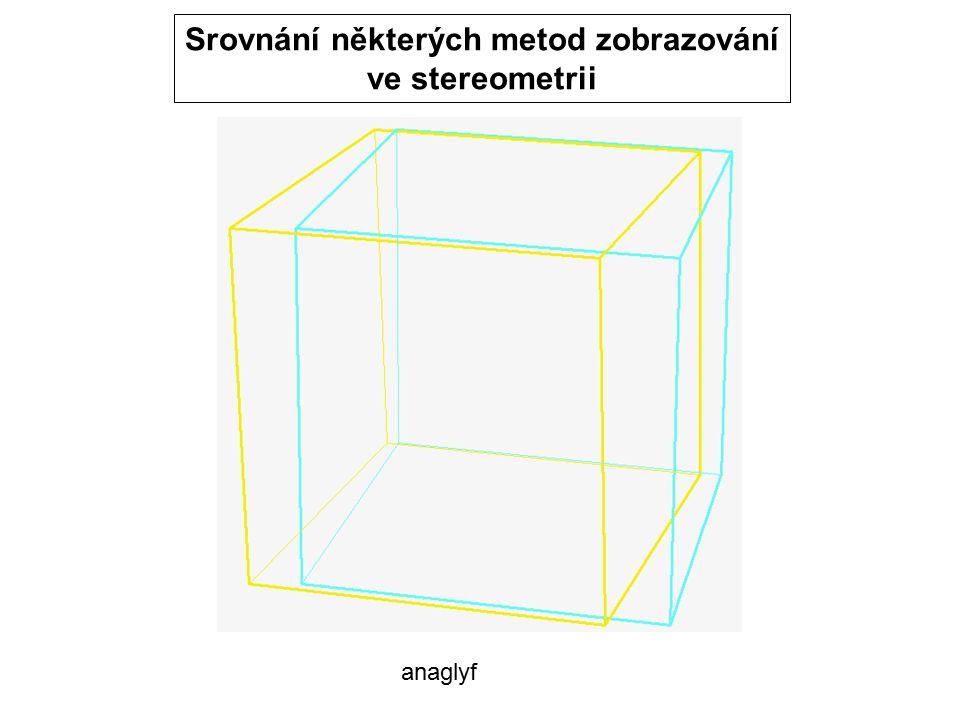Srovnání některých metod zobrazování