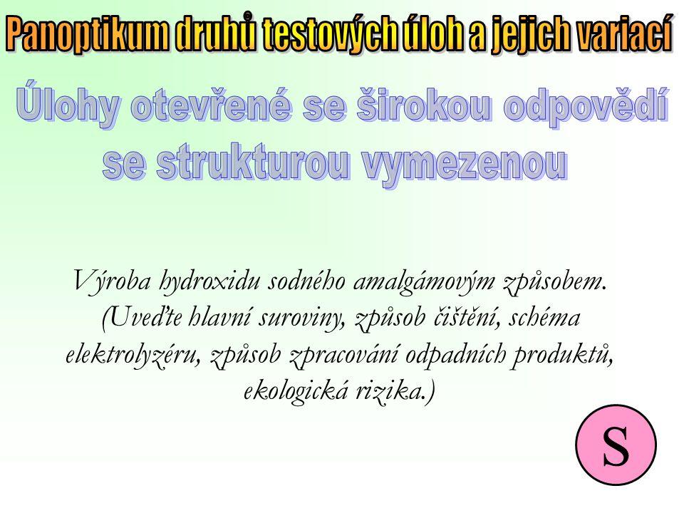 S Panoptikum druhů testových úloh a jejich variací