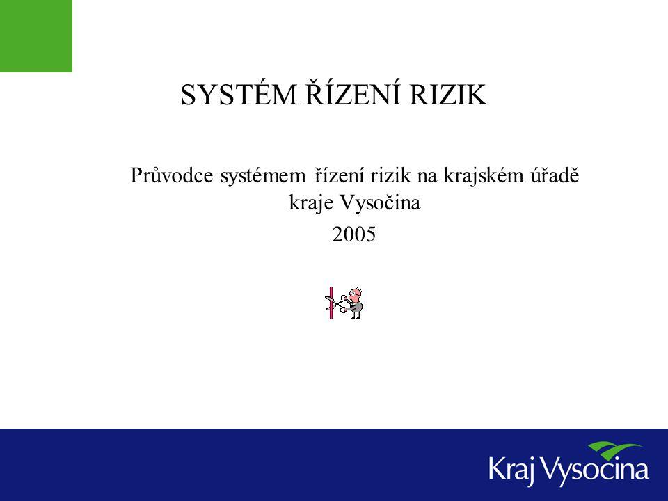 Průvodce systémem řízení rizik na krajském úřadě kraje Vysočina 2005