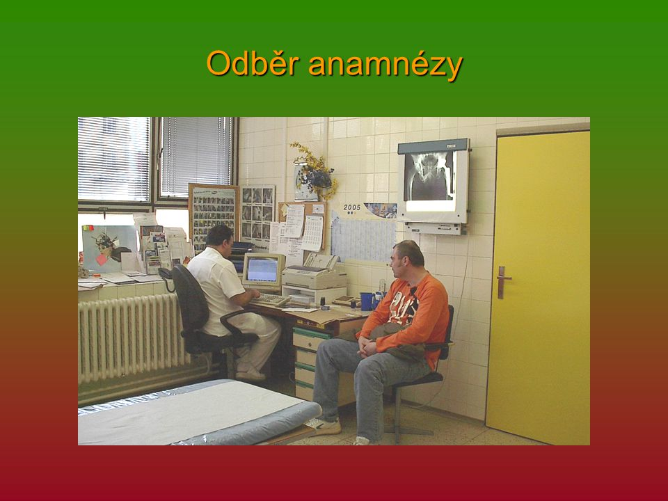 Odběr anamnézy