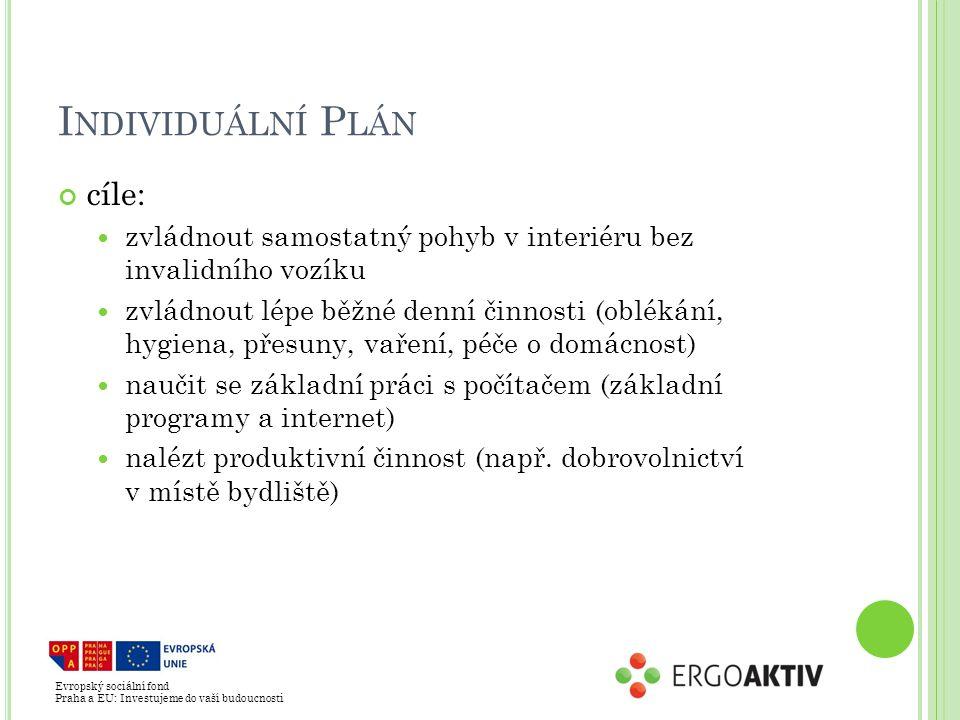 Individuální Plán cíle: