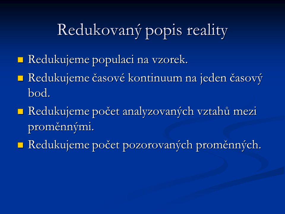 Redukovaný popis reality