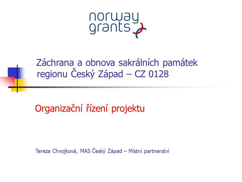 regionu Český Západ – CZ 0128