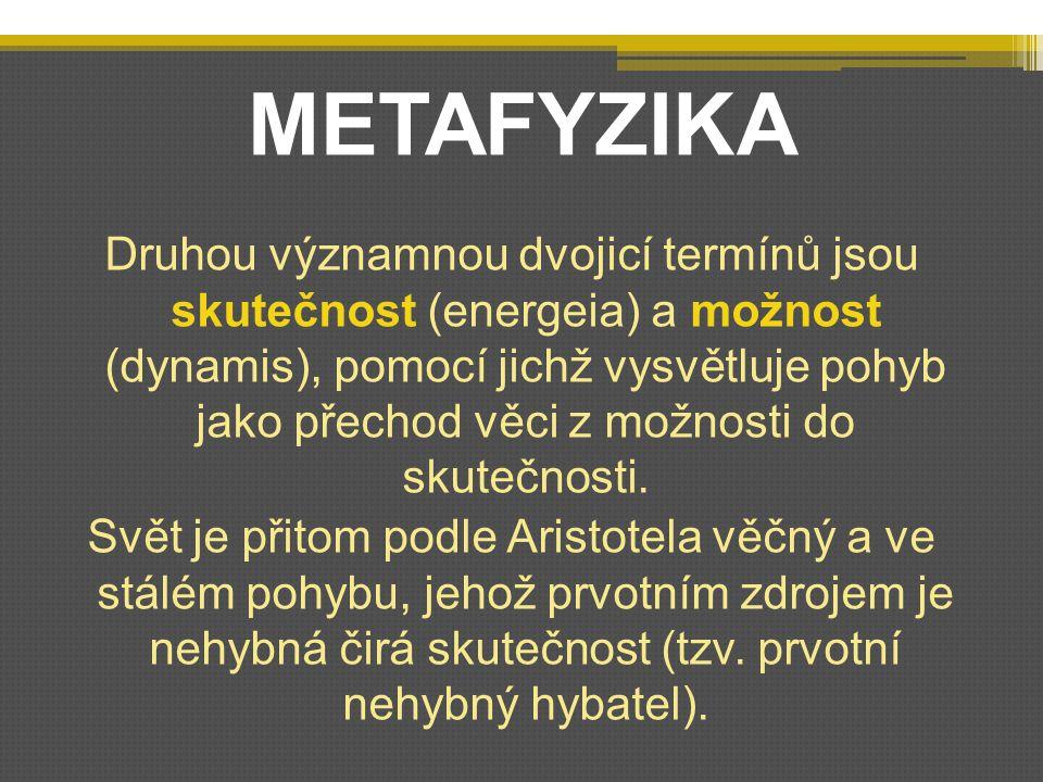 METAFYZIKA