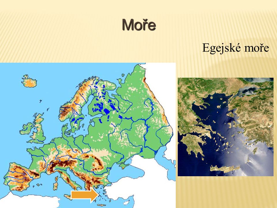 Moře Egejské moře