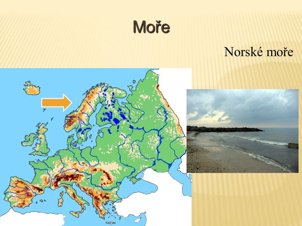 Moře Norské moře