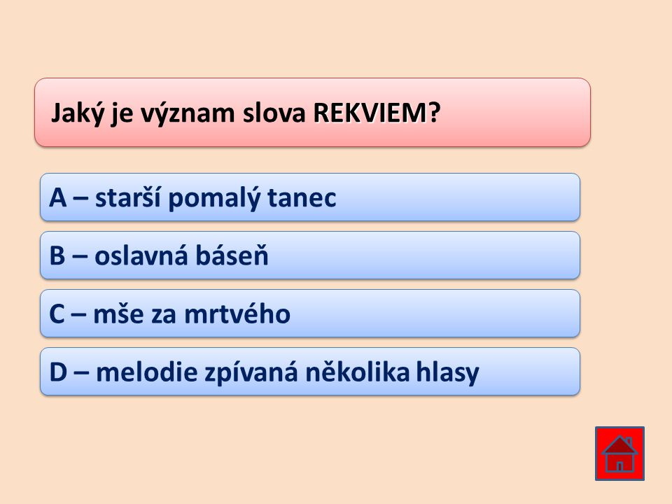 Jaký je význam slova REKVIEM