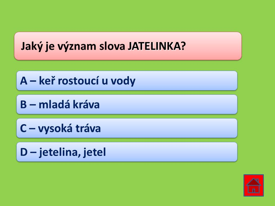 Jaký je význam slova JATELINKA