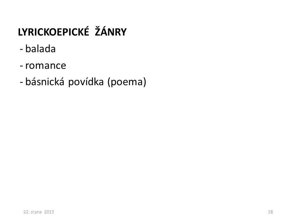 básnická povídka (poema)