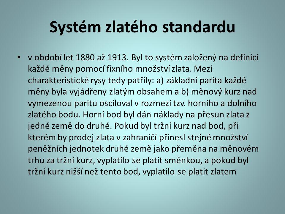 Systém zlatého standardu