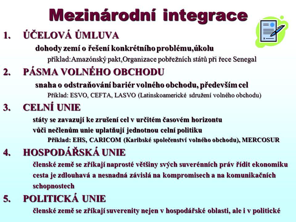 Mezinárodní integrace