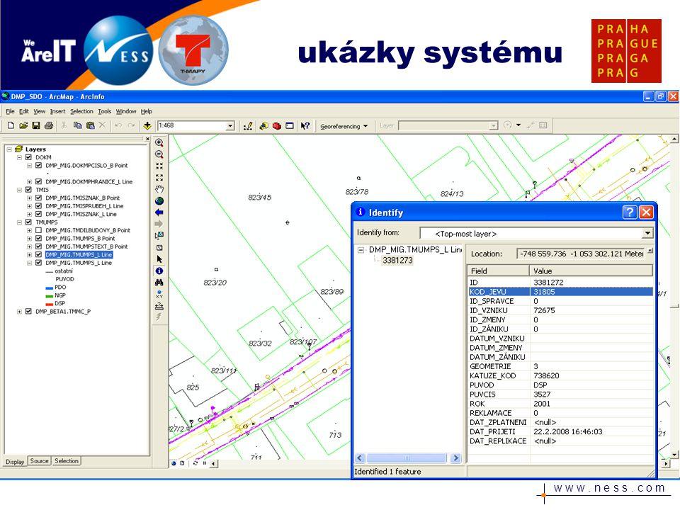 ukázky systému