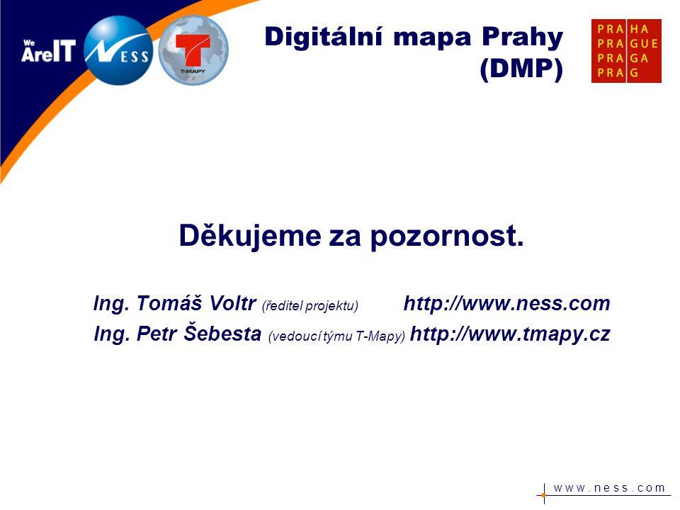 Digitální mapa Prahy (DMP)