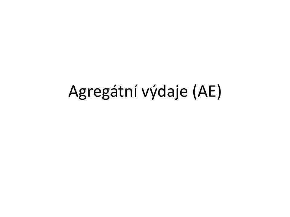Agregátní výdaje (AE)
