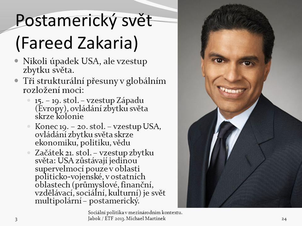Postamerický svět (Fareed Zakaria)