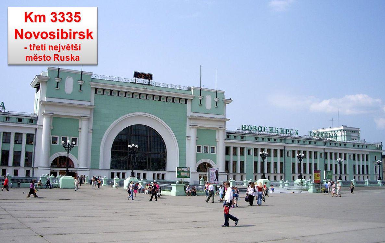 Novosibirsk - třetí největší město Ruska