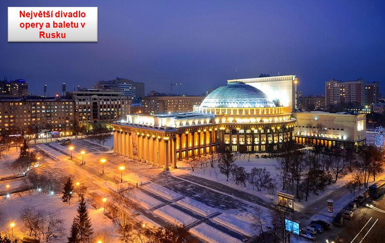 Největší divadlo opery a baletu v Rusku