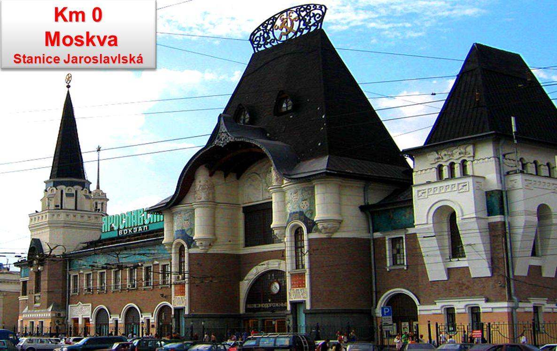 Km 0 Moskva Stanice Jaroslavlská