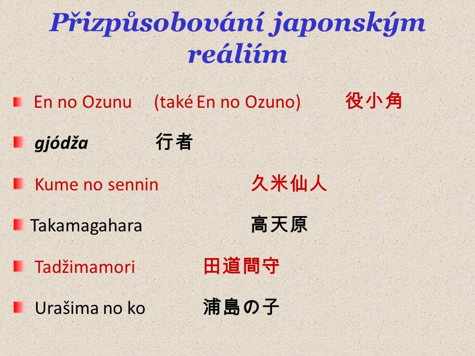 Přizpůsobování japonským reáliím