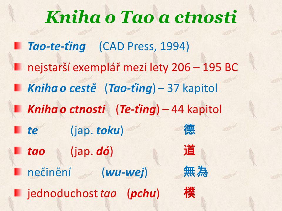 Kniha o Tao a ctnosti Tao-te-ťing (CAD Press, 1994)