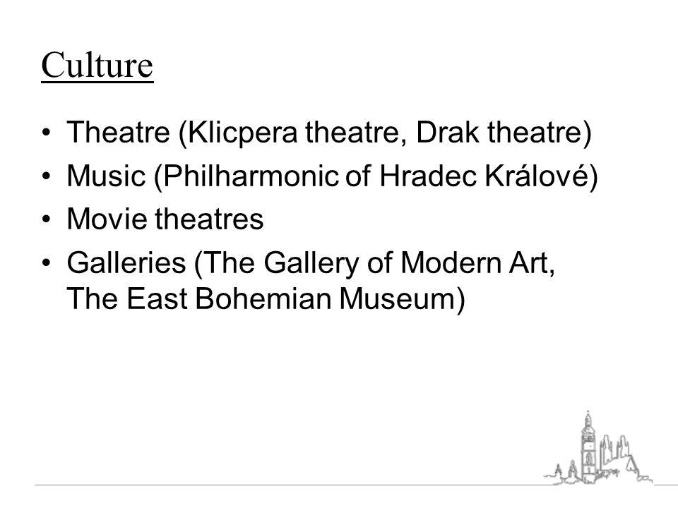 Culture Theatre (Klicpera theatre, Drak theatre)