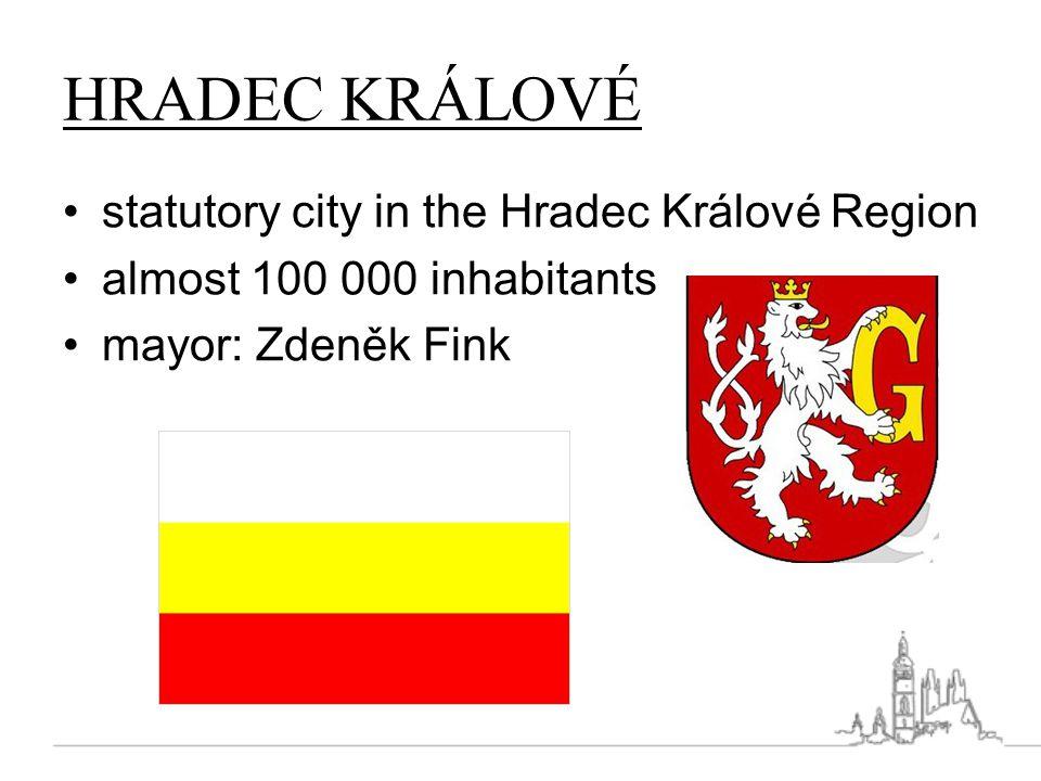 HRADEC KRÁLOVÉ statutory city in the Hradec Králové Region