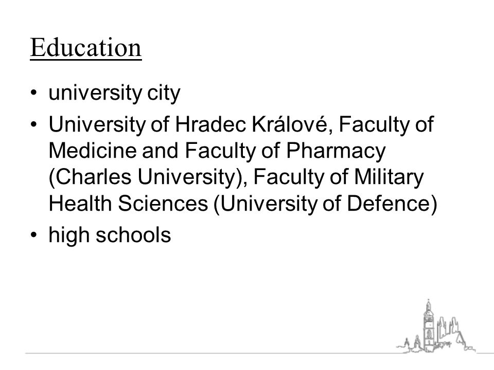 Education university city