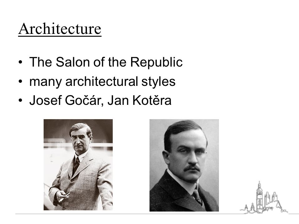 Architecture The Salon of the Republic many architectural styles